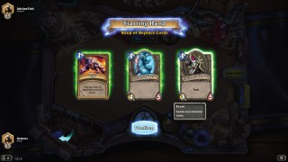 Hearthstone Card Select