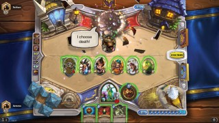 Hearthstone Warrior Concedes V Druid