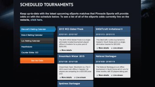 Pinnacle Sports eSports Tournaments