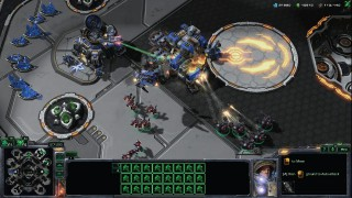 StarCraft 2 Terran Attacking Terran Base