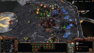 StarCraft 2 Zerg V Zerg Base Defence